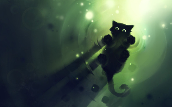 Drawn_wallpapers_Freeboard_Cat_025381_ (699x437, 36 Kb)