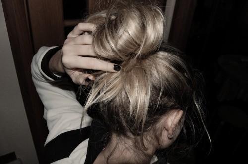 блондинки картинки без лица
