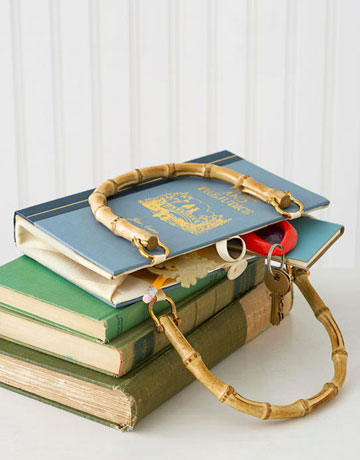 Diy Bolsa de livro