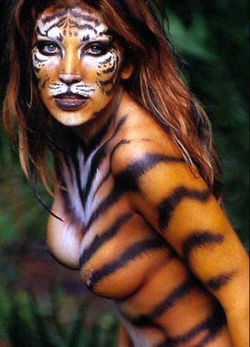 Тигрица секси