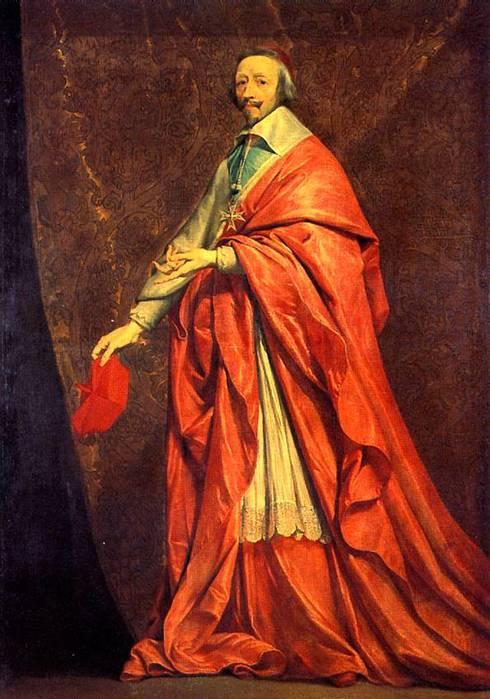 Анна Австрийская и кардинал Ришелье (490x699, 59Kb)