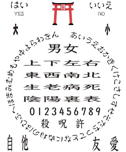 Японская магия: Коккури-сан