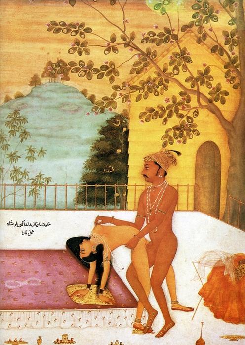 Групповой секс в древней индии