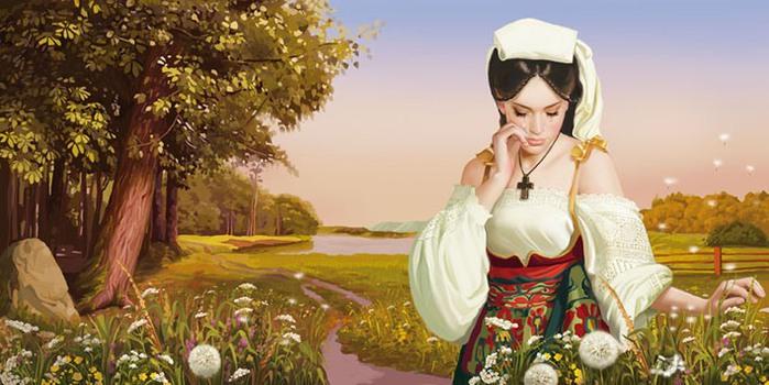 Работы художника - иллюстратора Татьяны Дорониной))