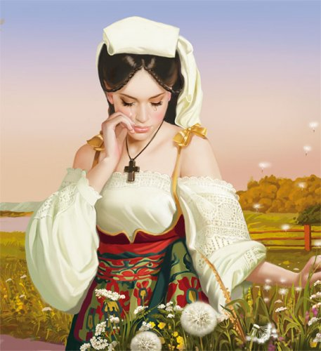 Работы художника - иллюстратора Татьяны Дорониной)) (457x500, 44Kb)