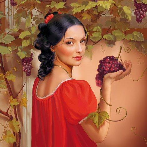 Работы художника - иллюстратора Татьяны Дорониной)) (472x472, 45Kb)