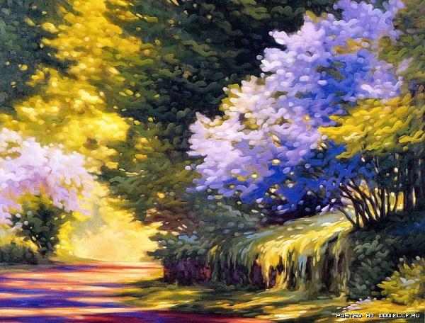 Красочные пейзажи!!!!!!