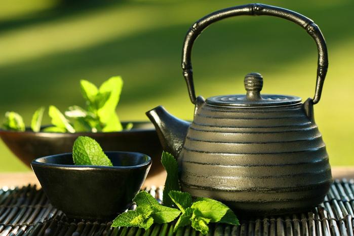 Чашка чая на утречко ! ))) (699x466, 138Kb)