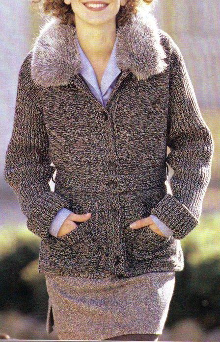 вязаные куртки женские крючком фото это брусья