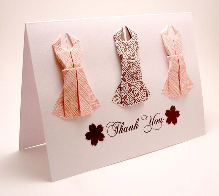 Открытка оригами женщине, картинку