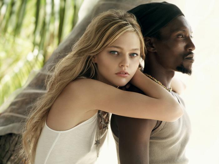 Белая девушка черный парень — pic 3