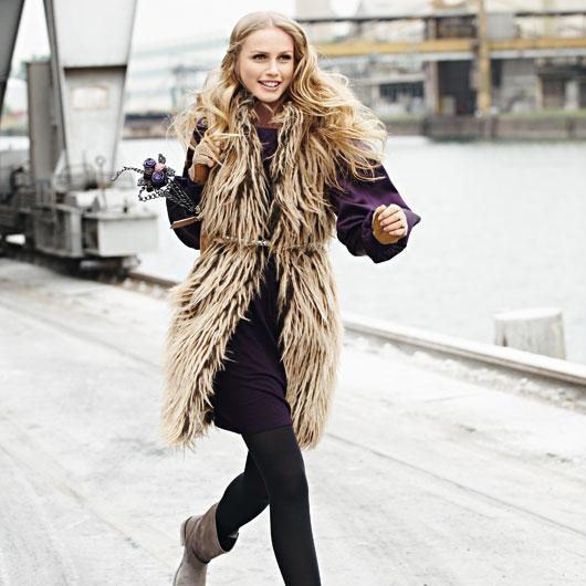 Меховой жилет, выкройки пальто бесплатные и раскрой жилетки из меха.
