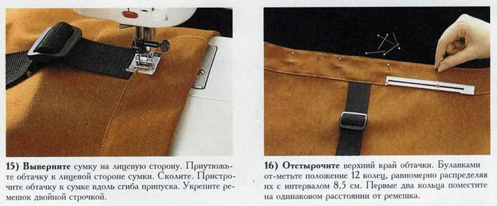 Сумка-рюкзак.  Мастер-класс по пошиву.