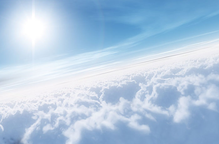 Небо.анимация открытки