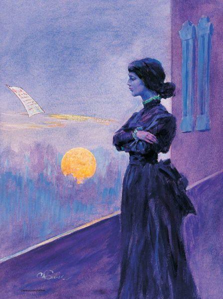 «Широк и жёлт вечерний свет...» Анна Ахматова стихи ... Ты мне я Тебе