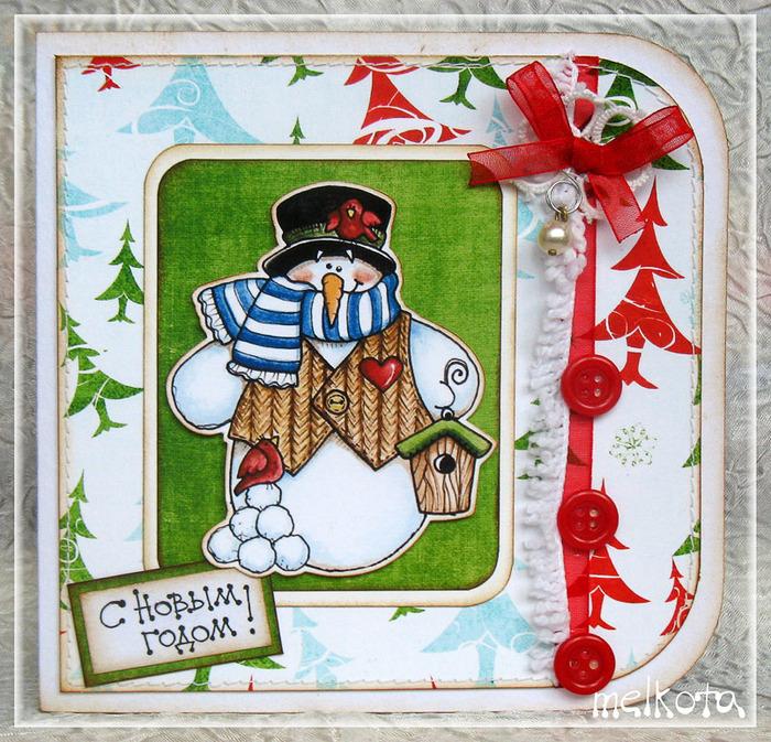 Картинки, новогодние открытки скрапбукинг по скетчам