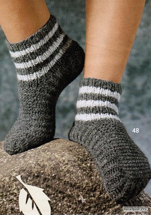 Схемы вязания варежки перчатки носки.