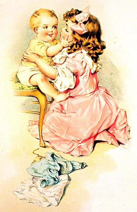 Будь самой, винтаж для мамы открытки