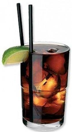 ...свободный дух Кубы, с кока-колой, новым напитком Америки.