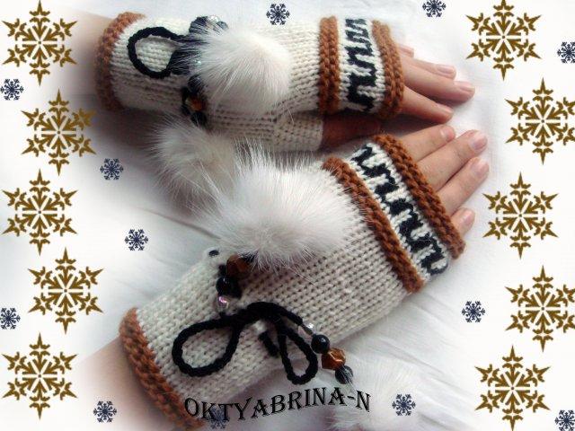 Варежки, митенки, перчатки ручной работы.  80x80 - 3072x2304...