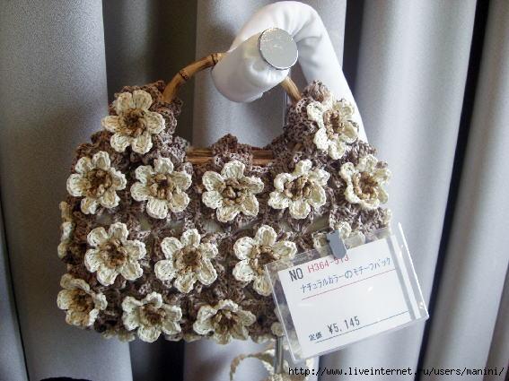 вязаные летние сумки схемы, женская манишка крючок и вязание крючком.