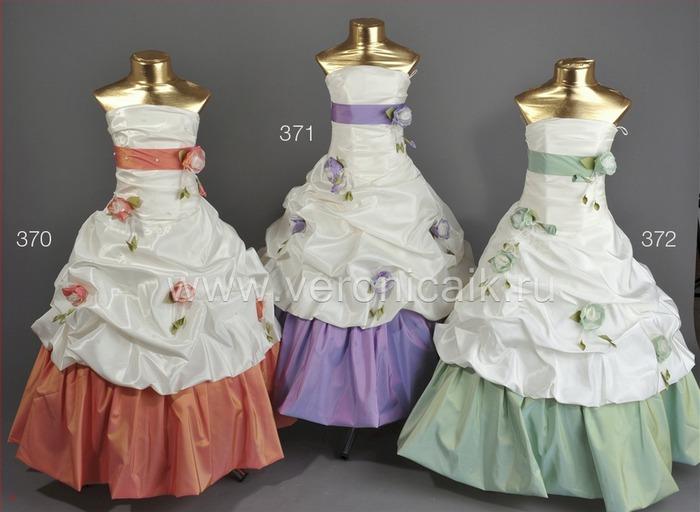 Детское платье Сабрина для маленькой принцессы 5-8 лет.