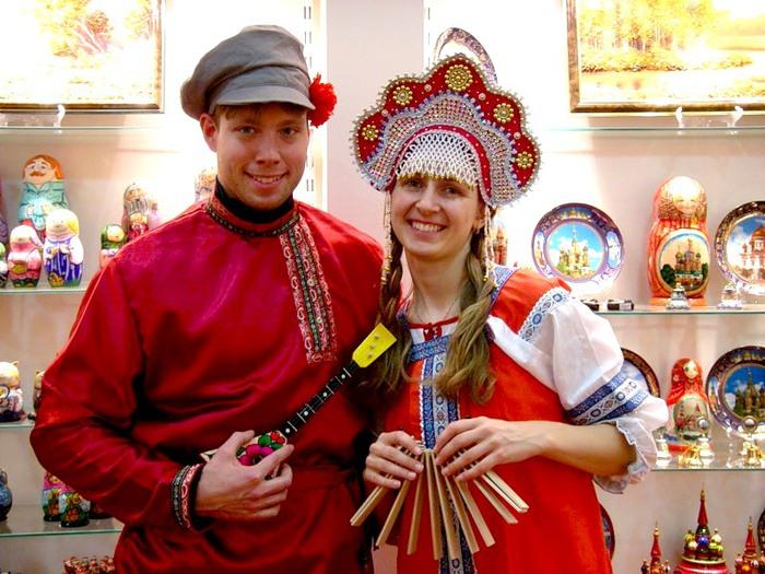 русские одежда национальная фото