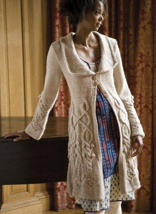 нетерпеливые тетушки стильное вязание