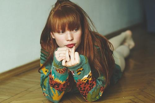 красиво, красота, мило, рыжие, девушка - картинка 30929 на Favim.ru.
