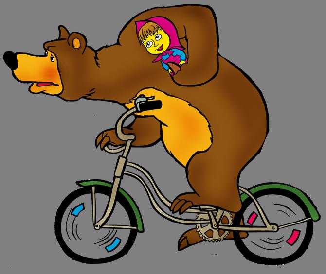 медведь на велосипеде картинка телефону связался своей