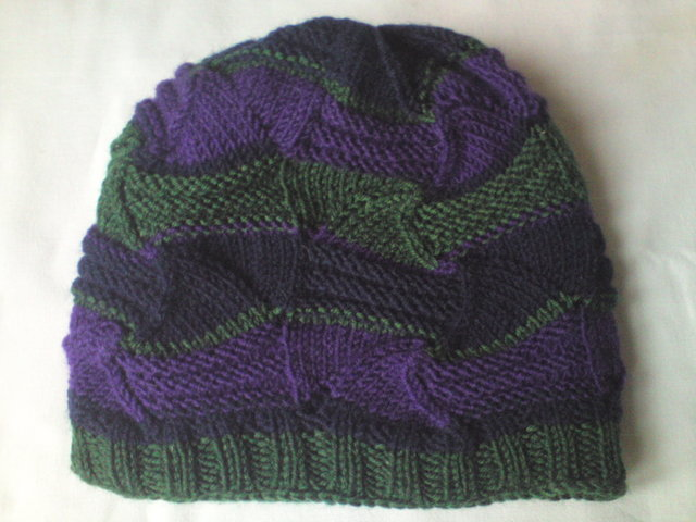 Шарф и шапка в стиле Миссони.