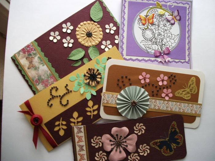 Миниатюрные открытки, мама взрослая