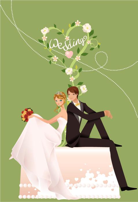 Открытка, открытки в день свадьбы жениху
