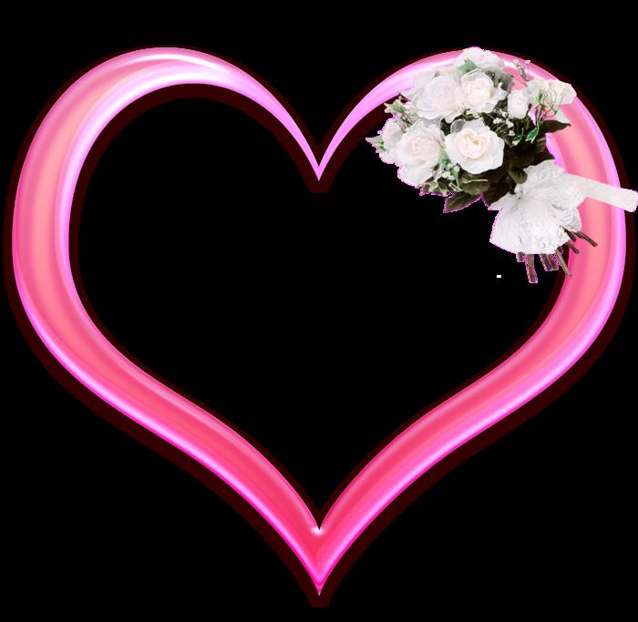 фоторамки на свадьбу в виде сердца после