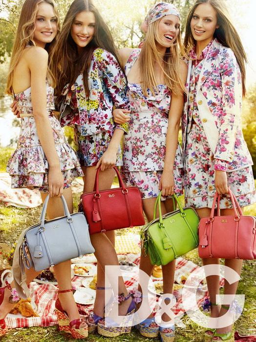 В Интернете появились снимки из рекламных кампаний D&G и Dolce&Gabbana.
