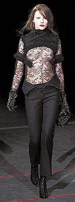 Модный женский показ 2012 Calvin Klein.
