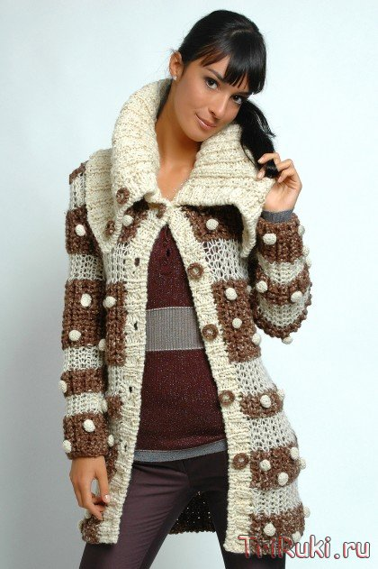 вязание спицами кардиганов и жилетов. вязание спицами кардиганы пальто.