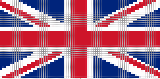 британский флаг фенечки обучение.  Рубрики: маникюрногтей на май.