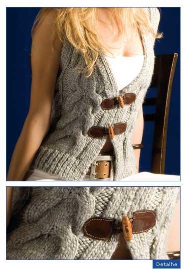 Вязаный жилет женский спицами.  Рубрики. вязание спицами. понравилось...