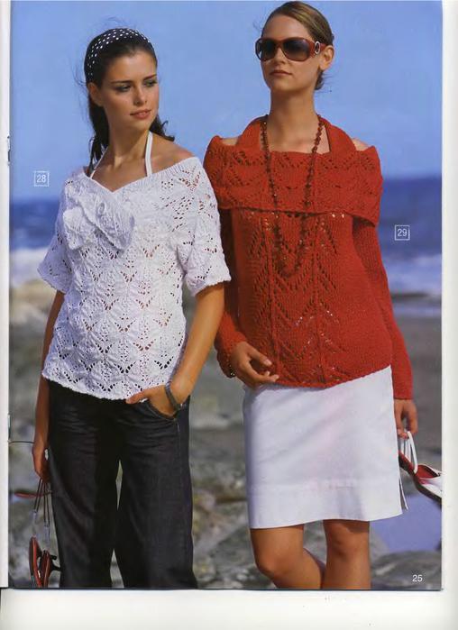 Потребуется для вязания летнего топика: 400 г песочной пряжи Silk.