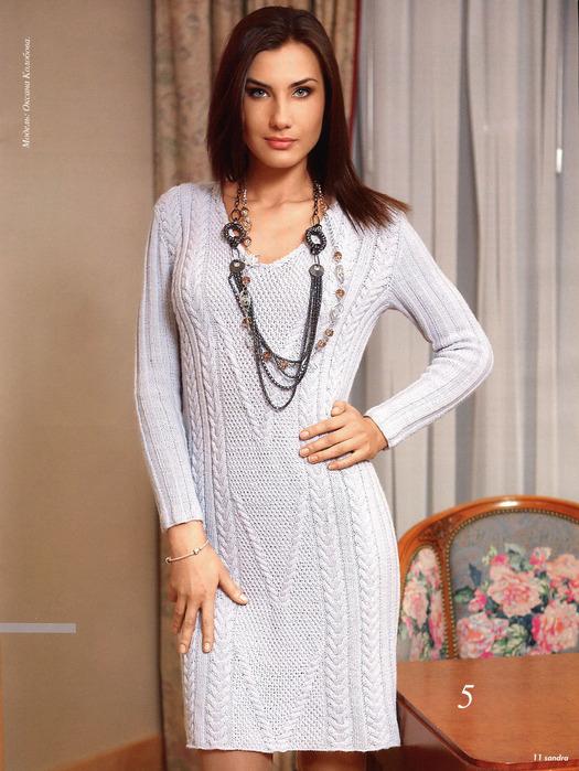Рубрики: Вязание спицами для женщин Платья Метки: вязание спицами.