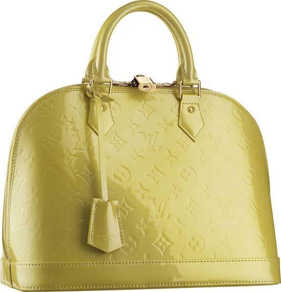 32 = 24 = 17 см. Сумка женксая Louis Vuitton, Alma PM M91613.