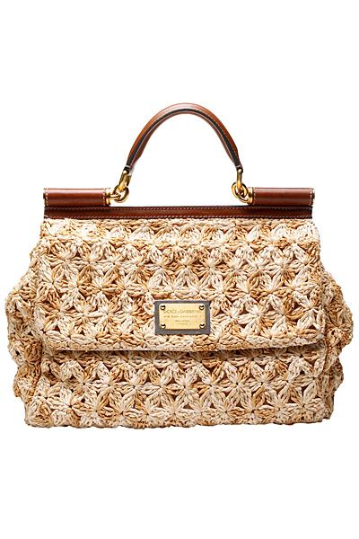 Вязанные сумки весна-лето 2011 от Dolce&Gabbana.  Iren_akil.