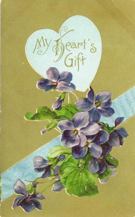 Британская открытка, про любовь