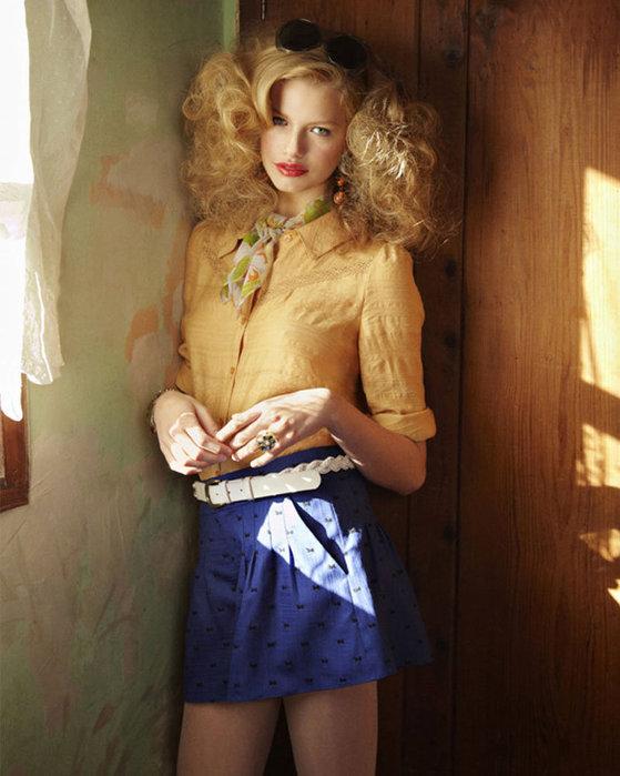 Одежда в стиле кантри и Pin Up весна-лето 2011 от Jill.
