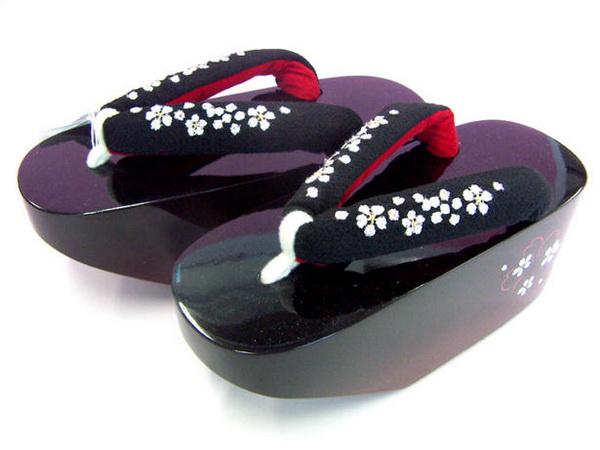 Разновидности гэта (японская обувь к кимоно). Обсуждение ... Платформа Обувь Мужская
