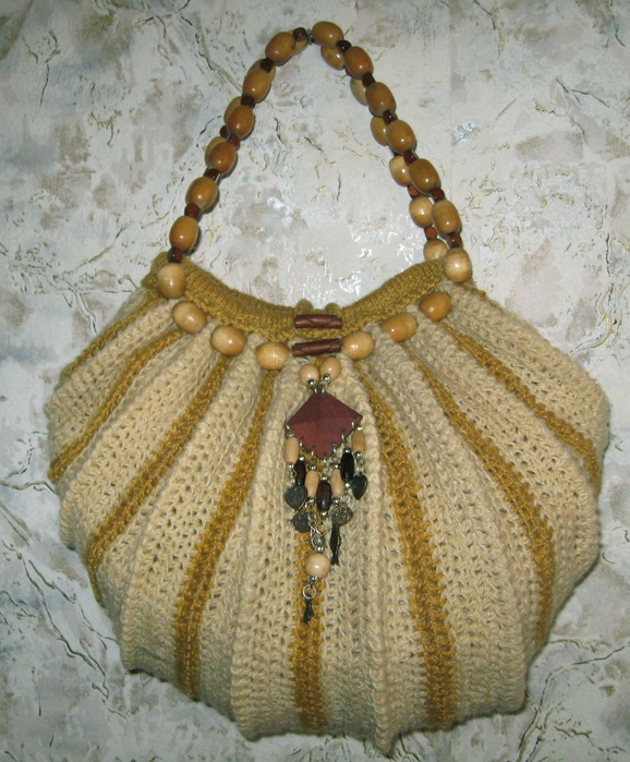 сумка тучный мешок крючком схема - Сумки.