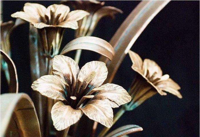 Купить кованые цветы по низким ценам, изготовление кованых цветов, фото кованных изделий