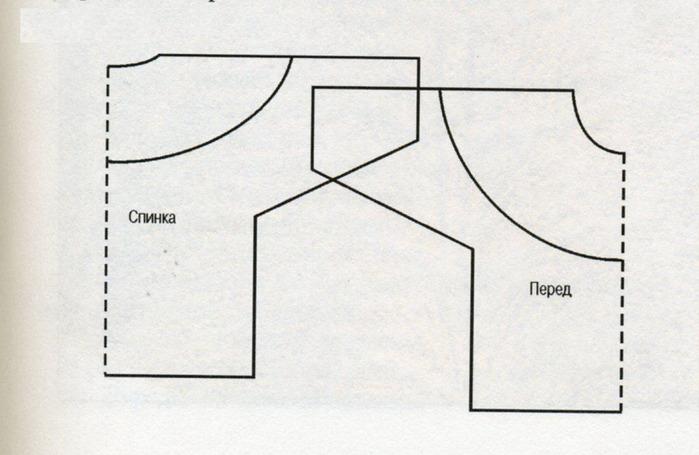 """Изделия с круглой кокеткой, как и изделия  """"реглан """", вяжут и по..."""
