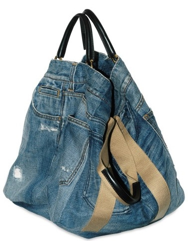 как сшить сумку из джинсовой куртки.